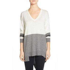 NWT Nordstrom Vince Camuto Colorblock Sweater
